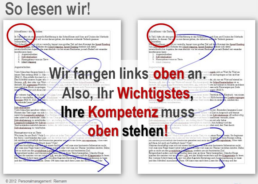 Der innovative Lebenslauf | Personalmanagement Riemann | München ...